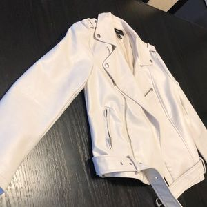 Faux F21 leather jacket